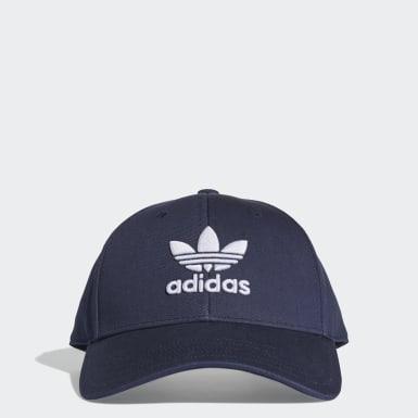 Trefoil Baseball Caps Blå