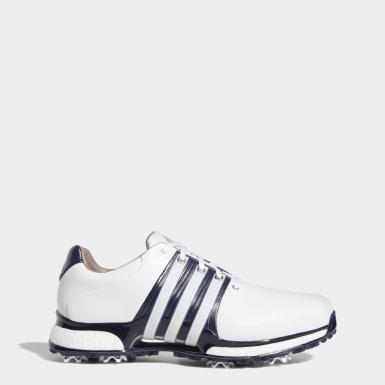 Men Golf White Tour360 XT Wide Shoes