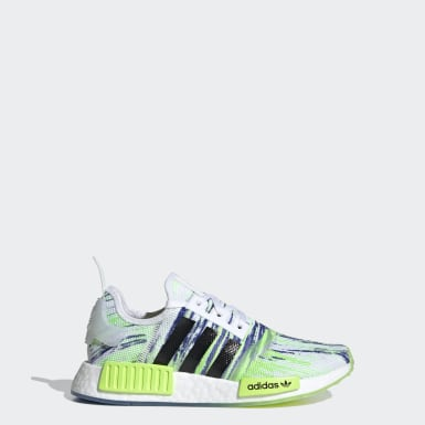 Kids Originals Green NMD_R1 Shoes