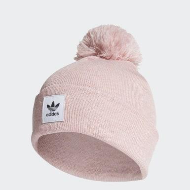 розовый Шапка Mélange