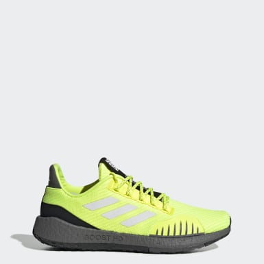 Men Running Yellow Pulseboost HD Winter Shoes
