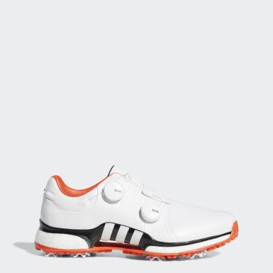 Men Golf White Tour360 XT Twin Boa Shoes