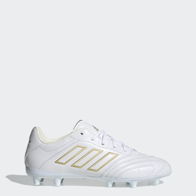 Soccer White Copa Kapitan Firm Ground Cleats