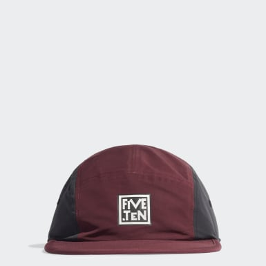 Gorra Five Ten Burgundy Five Ten
