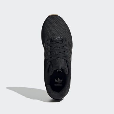 Children Originals Black ZX Flux Shoes