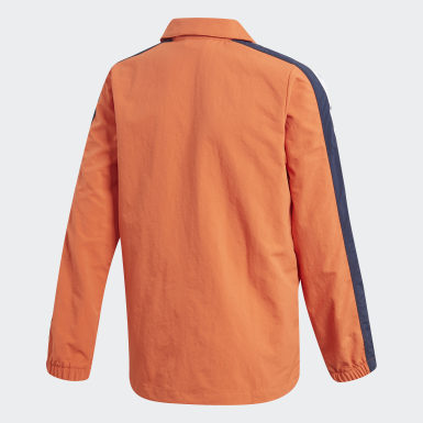 оранжевый Куртка Coach