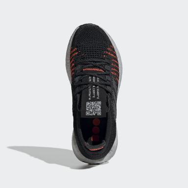 Chaussure Pulseboost HD noir Adolescents Course