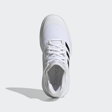 Women Training White Court Team Bounce Indoor Shoes