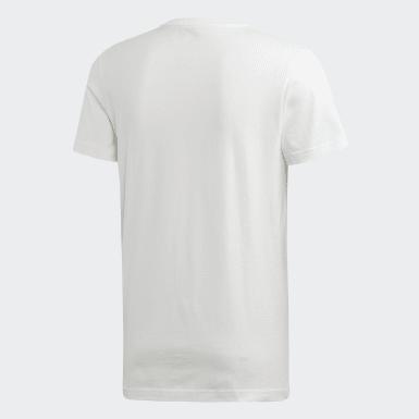 Camiseta Argelia Blanco Hombre Fútbol