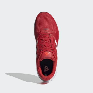Zapatillas Runfalcon 2.0 Rojo Hombre Running