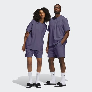 Originals Purple Pharrell Williams Basics Shorts (Gender Neutral)