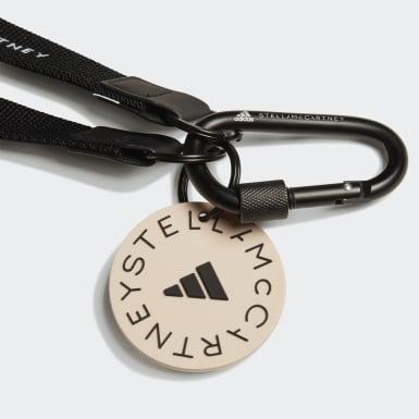 Dames adidas by Stella McCartney zwart adidas by Stella McCartney Sleutelkoord