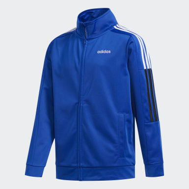 Youth Training Blue Core Jacket
