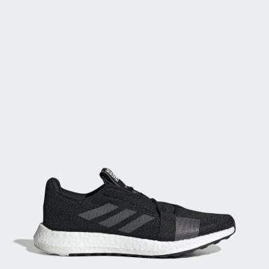 ผู้ชาย วิ่ง สีดำ รองเท้า Senseboost Go