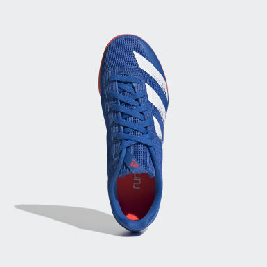 Youth 8-16 Years Track & Field Blue Allroundstar Shoes