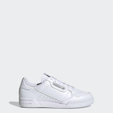Tenis Continental 80 (UNISEX) Blanco Niño Originals