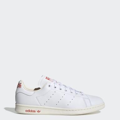 Originals Beyaz Stan Smith Ayakkabı