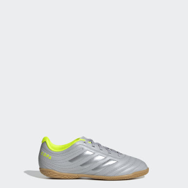 Children Soccer Grey Copa 20.4 Indoor Shoes