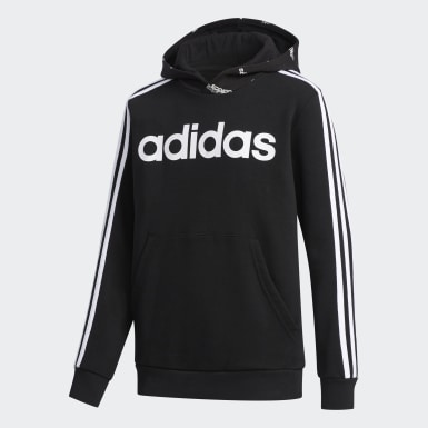 Jongens Athletics Zwart Core Favorites Hoodie
