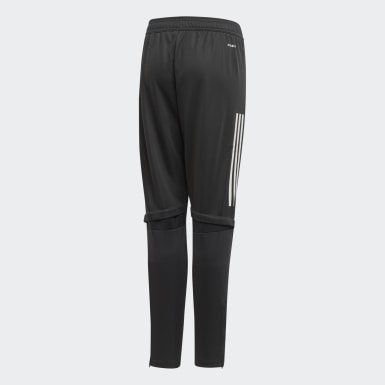 Youth 8-16 Years Football Grey Germany Training Tracksuit Bottoms