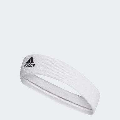 Yoga White Tennis Headband