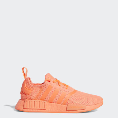 Women Originals Orange NMD_R1 Shoes