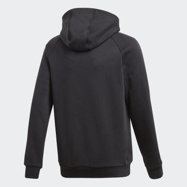 Sweat-shirt à capuche Core 18 Noir Enfants Training