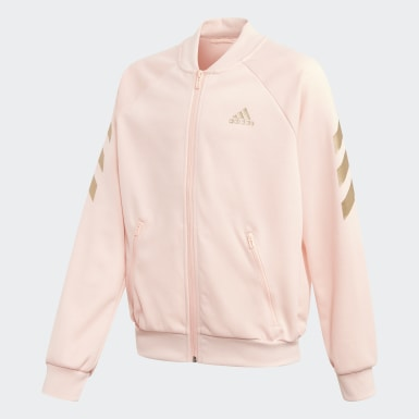 Dívky Trénink růžová Sportovní souprava XFG