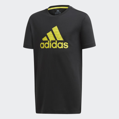 Boys Training Black Prime Tee