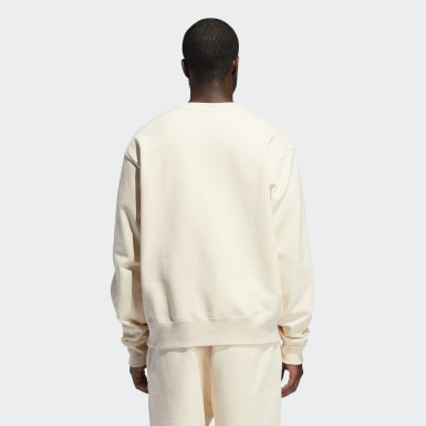 Originals Beige Pharrell Williams Basics Crew (kønsneutral) sweatshirt