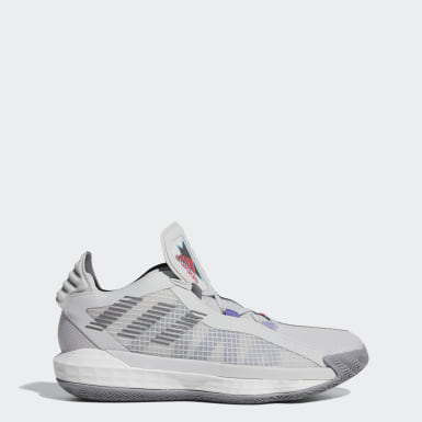Basketball Grey Dame 6 Playoffs Shoes