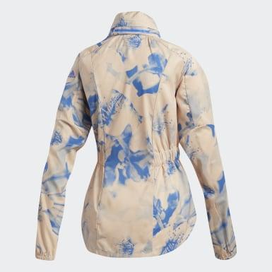 бежевый Куртка для бега Supernova TKO Xpose Graphic