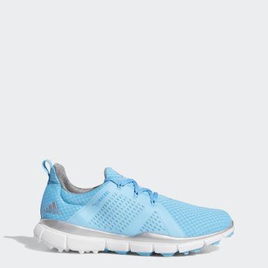 Kvinder Golf Blå Climacool Cage sko