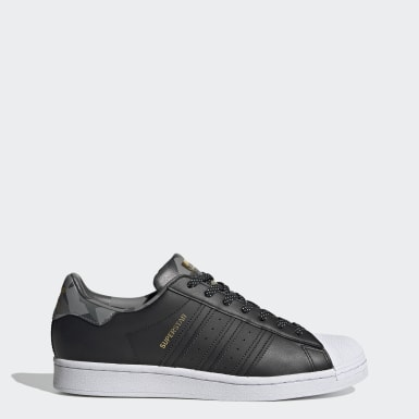Dames Originals Zwart Superstar Schoenen