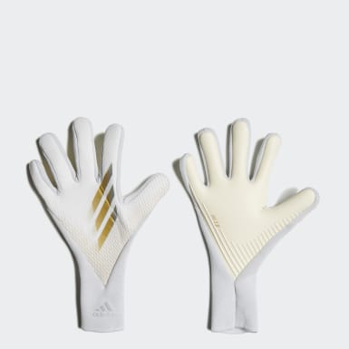 Football White X 20 Pro Goalkeeper Gloves
