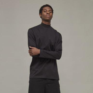 T-shirt Y-3 Classic Mock Neck Noir Hommes Y-3