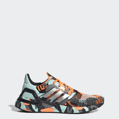 Sapatos Ultraboost 20 Laranja Homem Running
