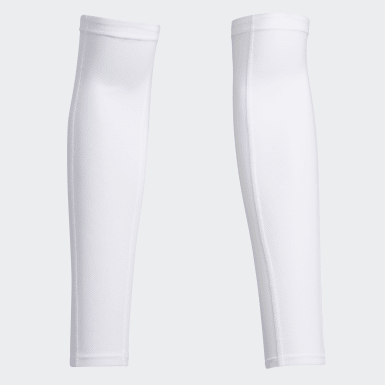 Men Golf White UV Arm Sleeve