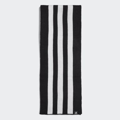 Løb Sort 3-Stripes halstørklæde