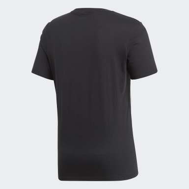 Men Training Black Core 18 Tee