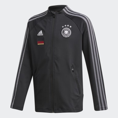 Tyskland Anthem Jakke Svart