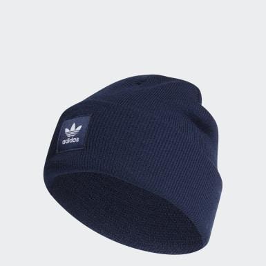 Gorro Cuff Adicolor Azul Originals