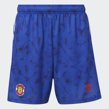 Pantalón corto Manchester United Human Race Azul Hombre Fútbol