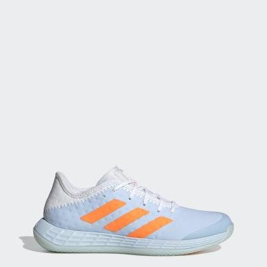 Sapatos de Andebol Adizero Fastcourt Azul Mulher Netball