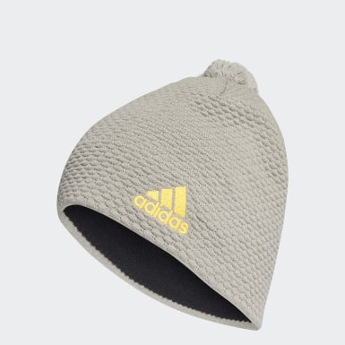 Winter Sports Grey Graphic Beanie