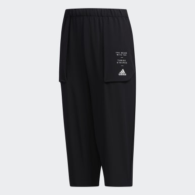 Boys Training Black Days Woven 3/4 Pants
