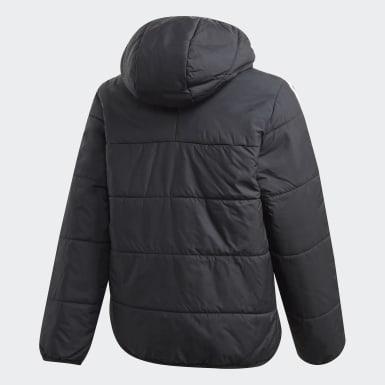 Chaqueta con capucha Padded Negro Niño Originals