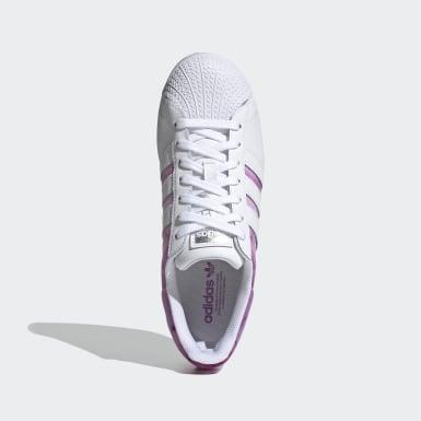 Tenis Superstar Bold Violeta Mujer Originals