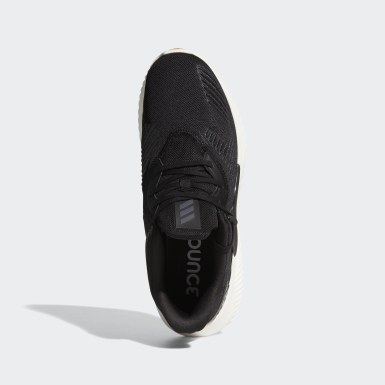 Men Running Black Alphabounce RC 2.0 Shoes