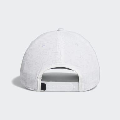 Men Golf White Color Pop Hat